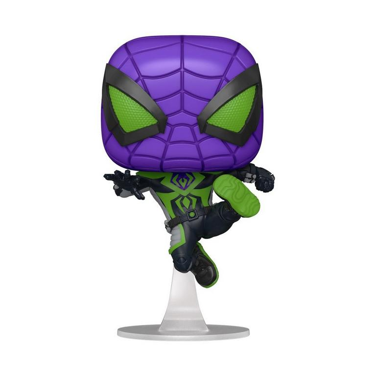POP! Marvel's Spider-Man: Miles Morales - Miles Morales Purple Reign