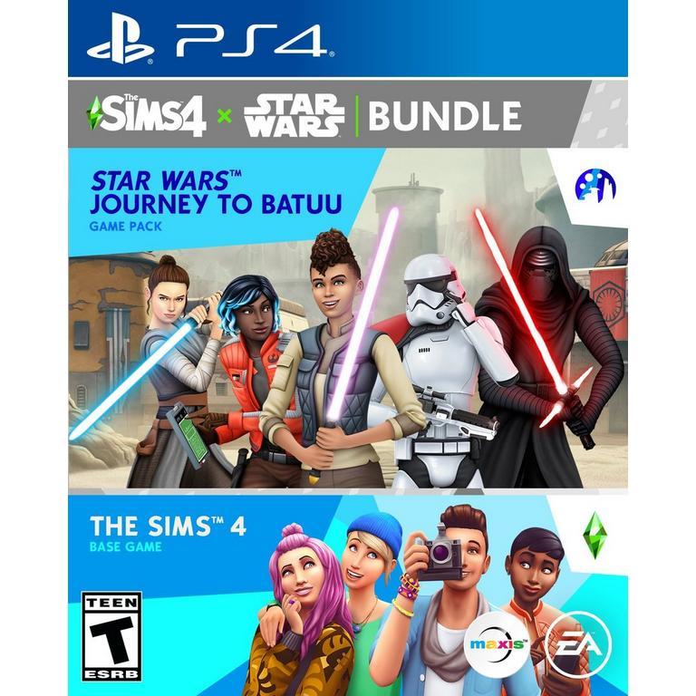 The Sims 4 Plus Star Wars: Journey to Batuu Bundle