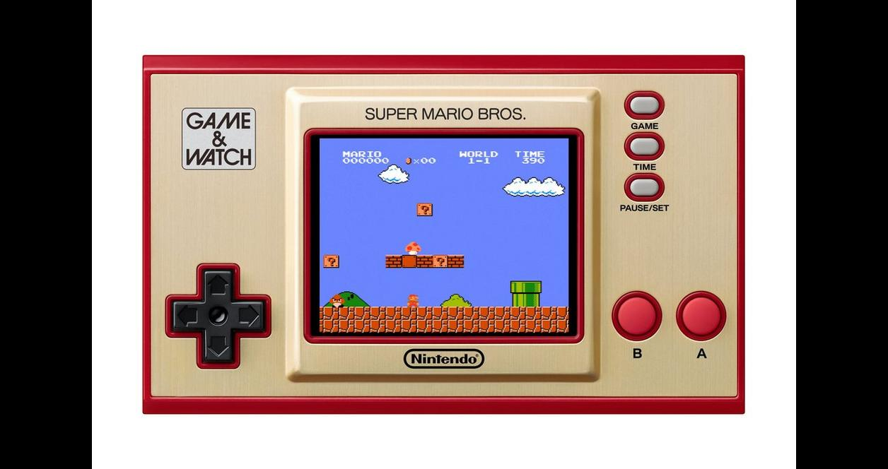 Game and Watch: Super Mario Bros.