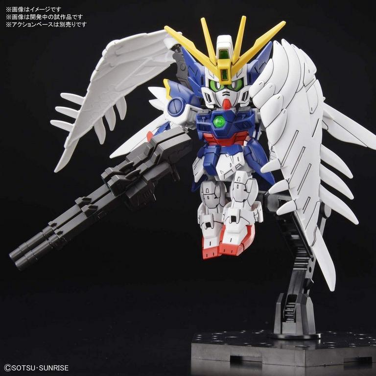Mobile Suit Gundam Wing: Endless Waltz Cross Silhouette Wing Gundam Zero Super Deformed Model Kit