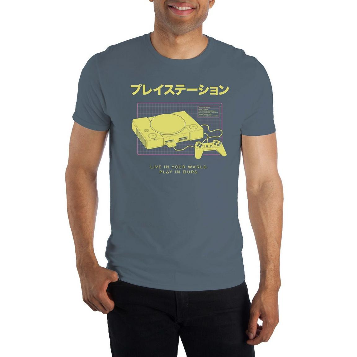 Men's Licensed Gaming and Pop Culture Graphic T-Shirts