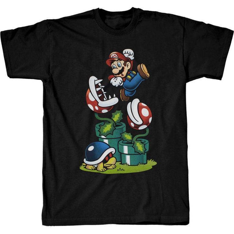 Mario Pirahana Plant T-Shirt