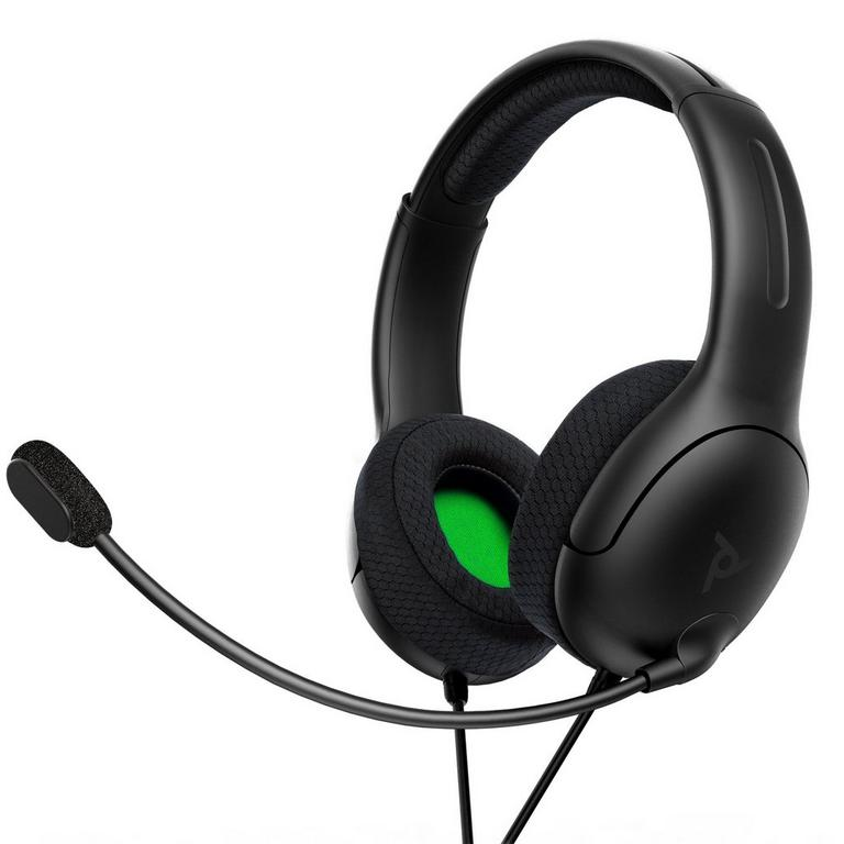 LVL40 Matte Black Wired Stereo Gaming Headset for Xbox Series X
