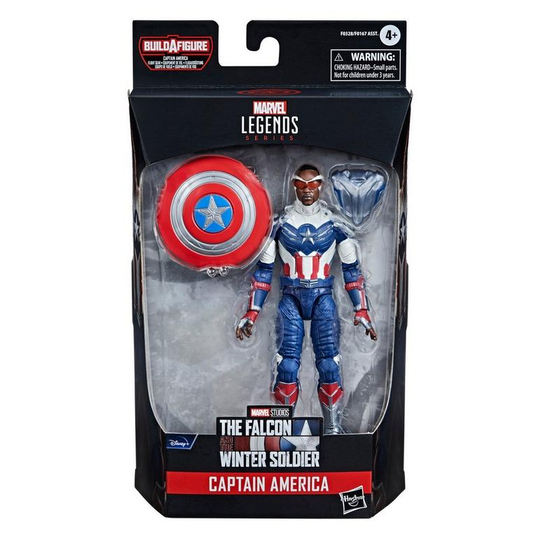 Marvel Legends Series The Falcon and Winter Soldier Captain America Sam Wilson Action Figure