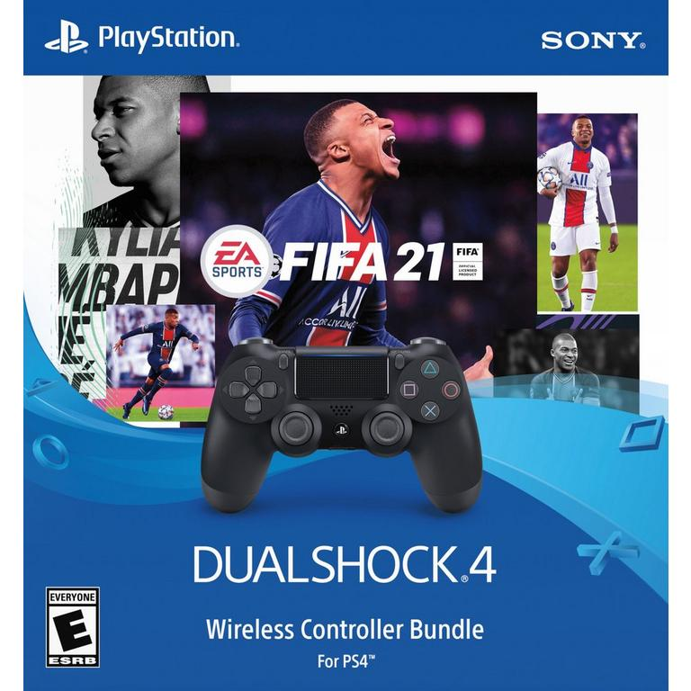 Sony DUALSHOCK 4 FIFA 21 Wireless Controller and FIFA 21 Bundle
