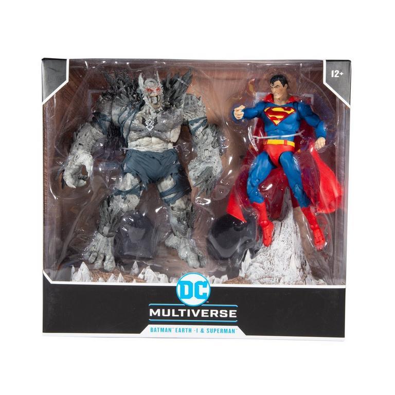 DC Superman VS. Devastator Action Figure 2 Pack