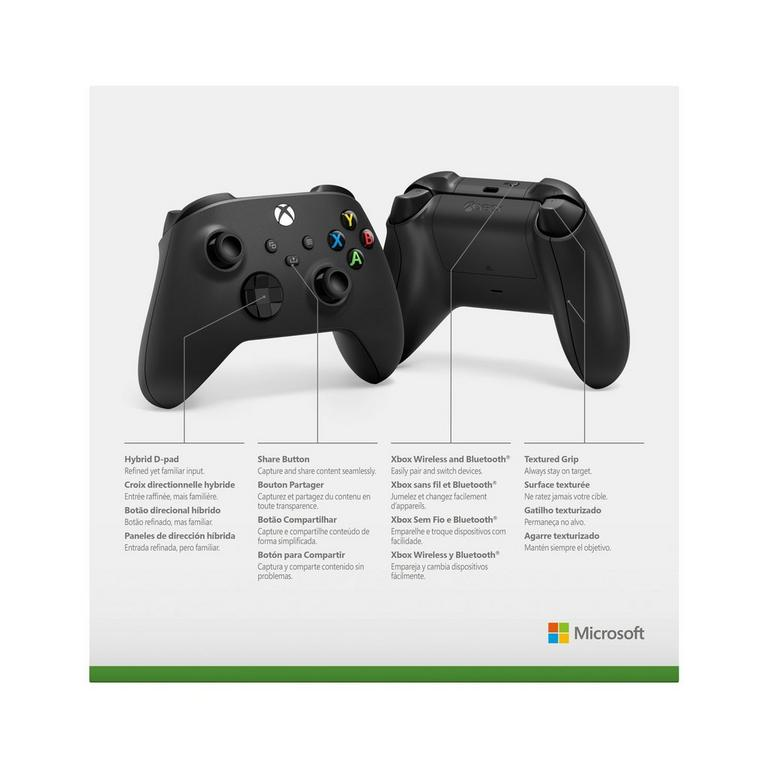 Microsoft Xbox Series X Wireless Controller Carbon Black