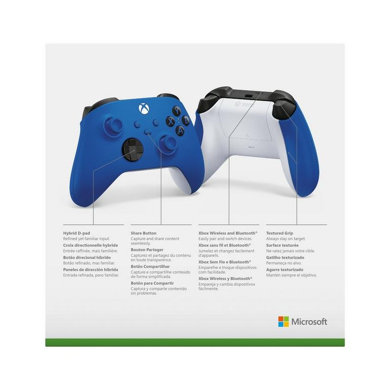 Microsoft Xbox Series X Shock Blue Wireless Controller