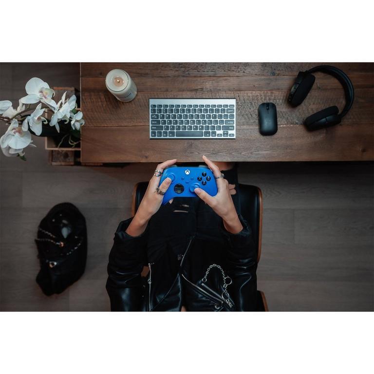 Microsoft Xbox Series X Shock Blue Wireless Controller