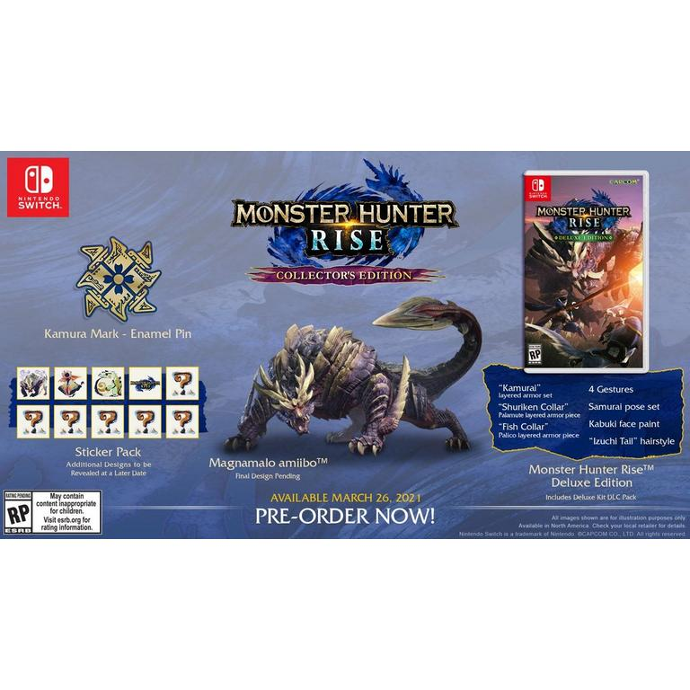 Monster Hunter Rise Collector's Edition