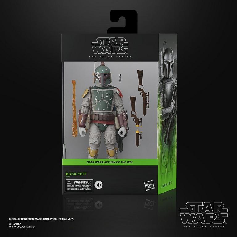 Star Wars Black Series Boba Fett Deluxe le retour du Jedi Action Figure Mandalorien Précommande