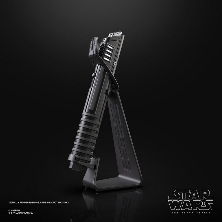 Star Wars: The Mandalorian Darksaber Force FX Elite Advanced LEDs The Black Series Lightsaber