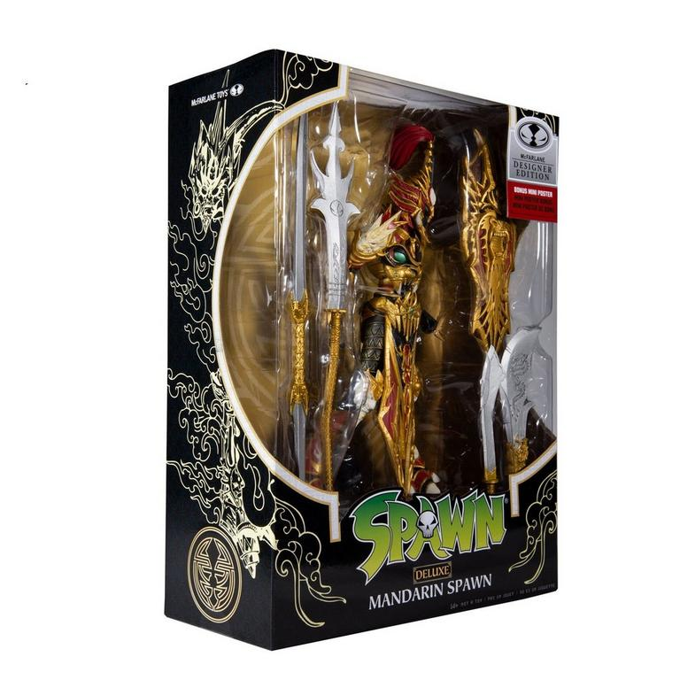 Spawn Mandarin Spawn Deluxe Action Figure Only at GameStop
