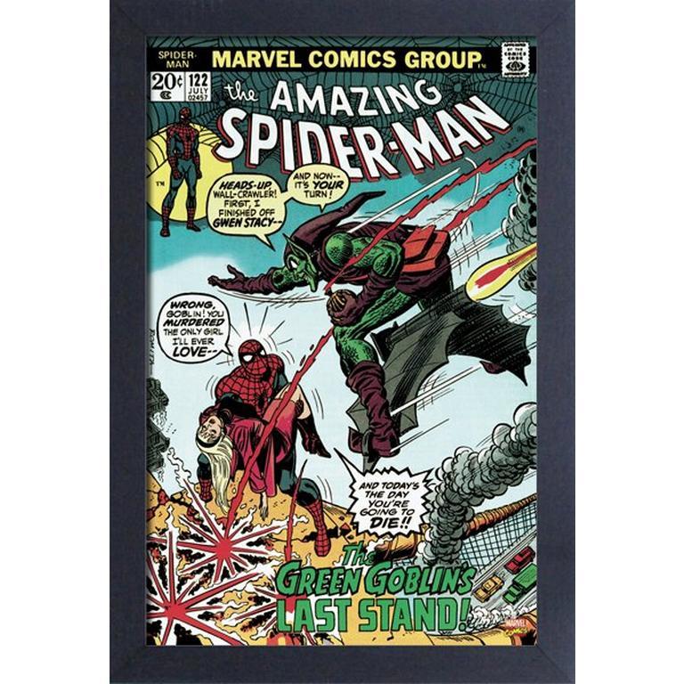 Marvel The Amazing Spider-Man Comic #122 Art Print
