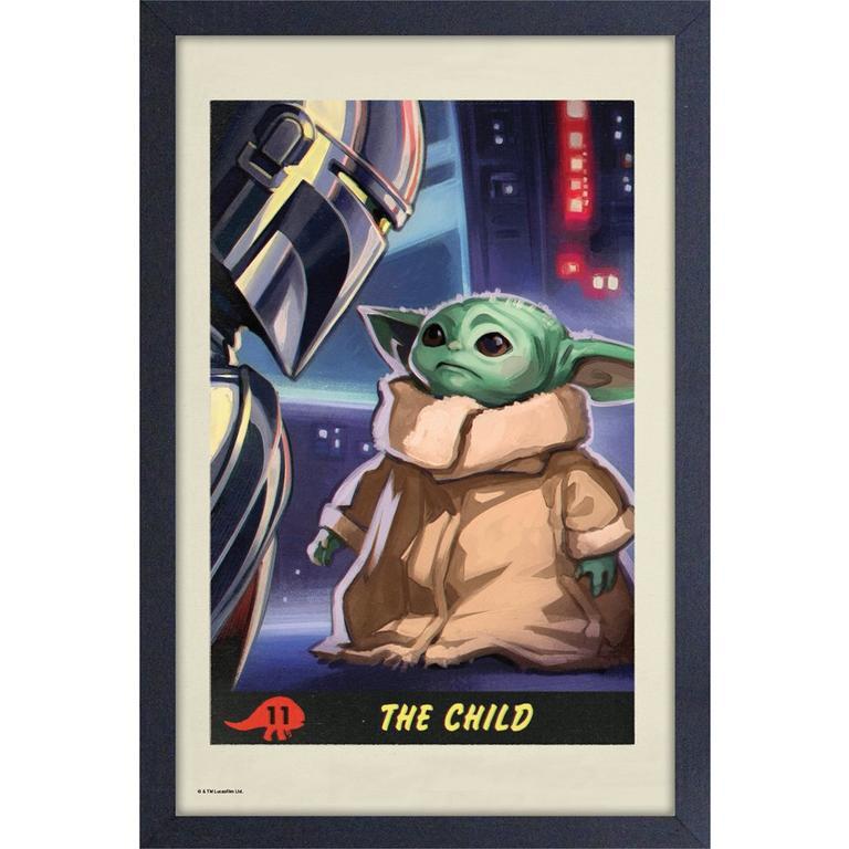 Star Wars: The Mandalorian The Child Art Print