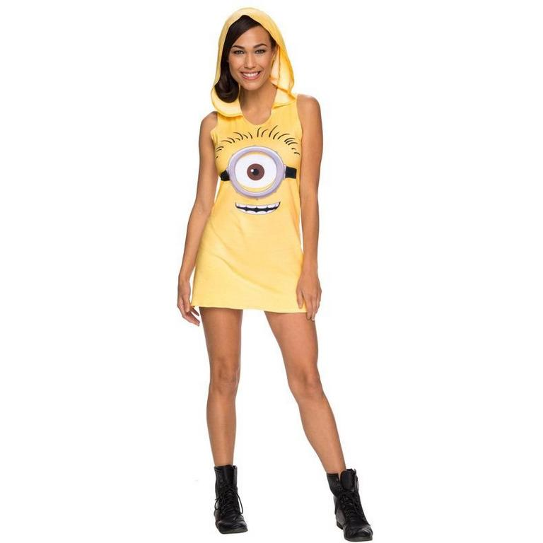 Despicable Me Minion Hooded Ladies Tank Dress
