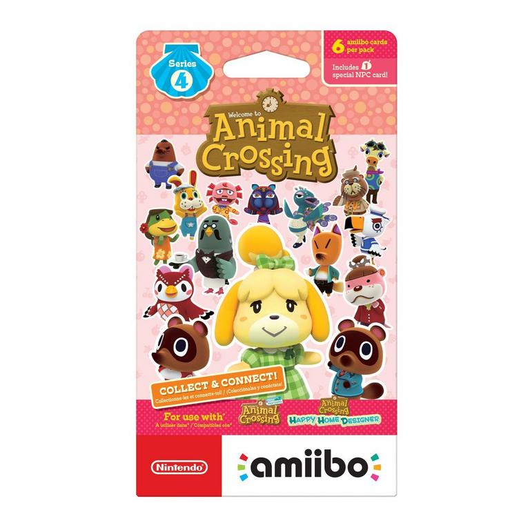Animal Crossing Series 4 amiibo Trading Cards