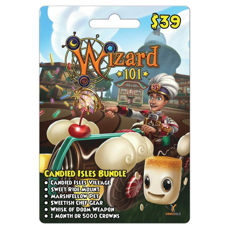 Wizard 101 Candied Isles Bundle Card