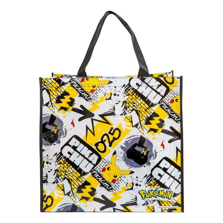 Pokemon Pikachu Graffiti Tote Bag
