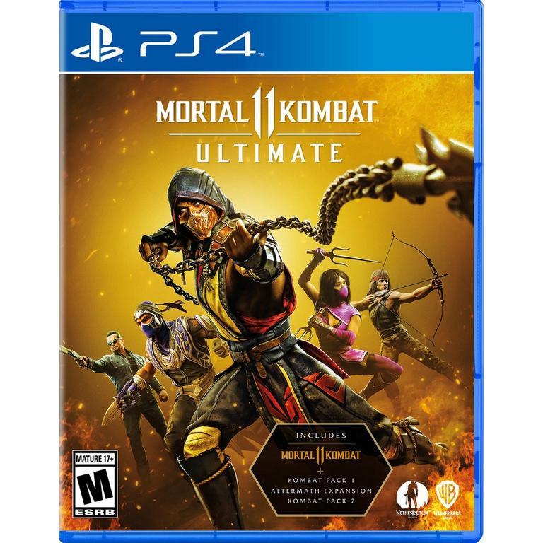 Mortal Kombat 11 Ultimate Edition - PlayStation 4