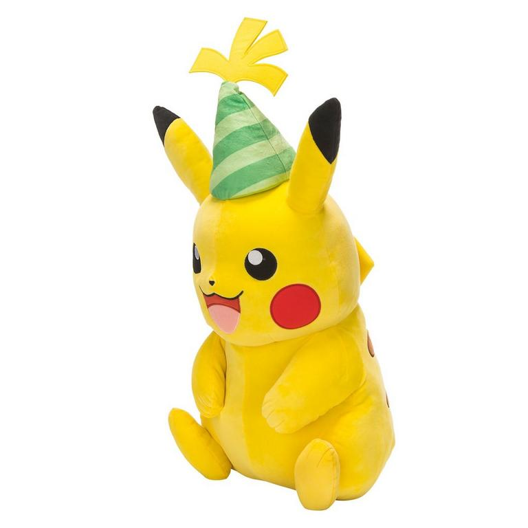 Pokemon 25th Anniversary Celebration Pikachu Plush Only at GameStop