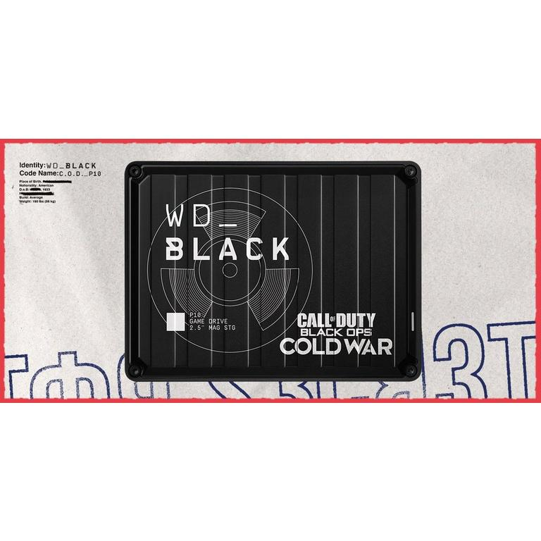 WD_Black P10 Call of Duty Game Drive 2TB