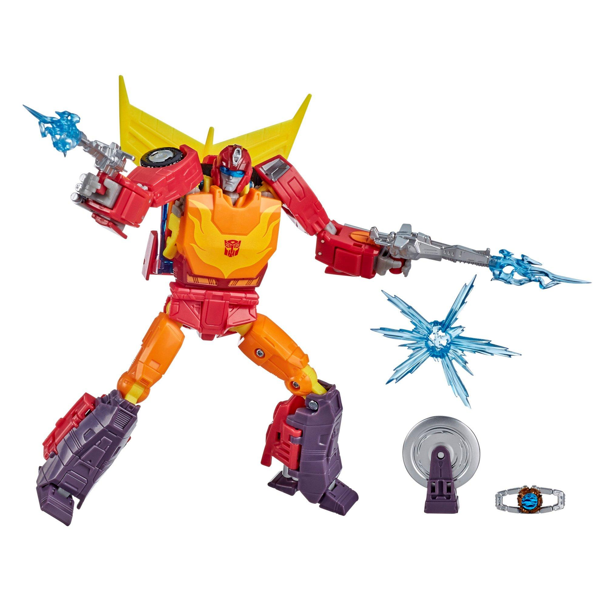 Transformers The Movie 1986 Hot Rod Studio Series Voyager Class Action Figure Gamestop