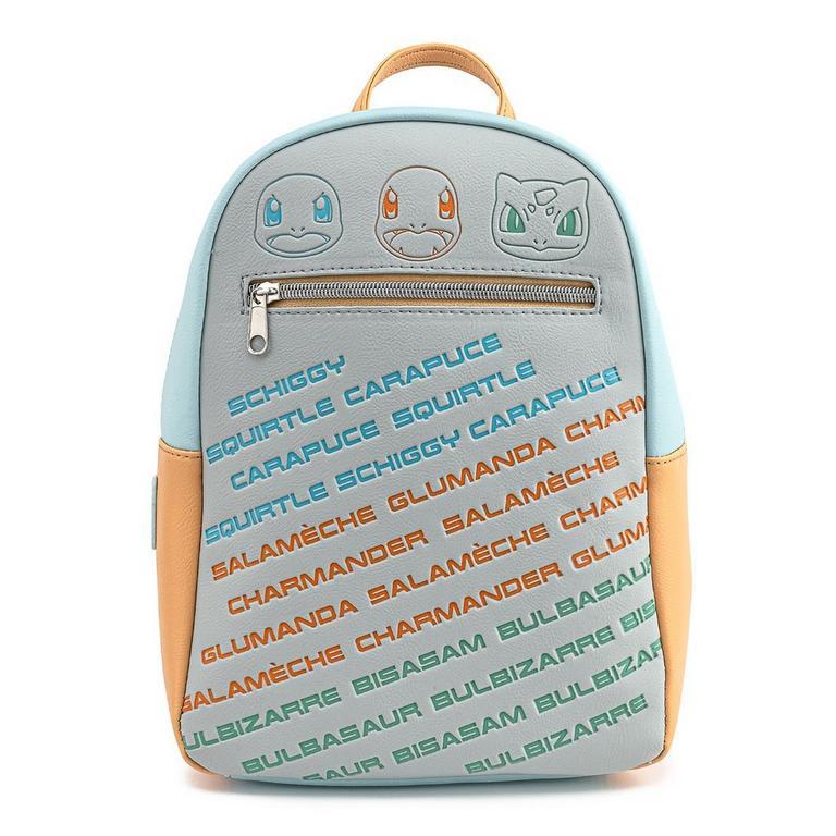 Pokemon Kanto Starters Mini Backpack