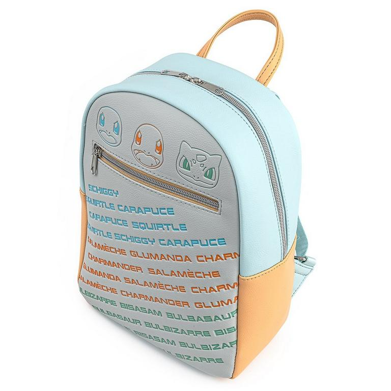 Pokemon Kanto Starters Mini Backpack
