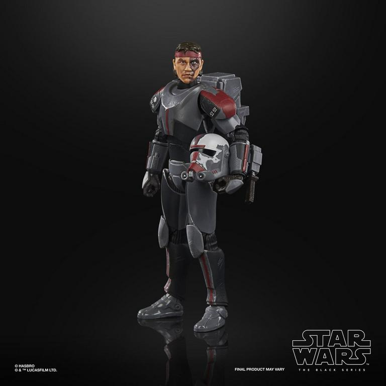 Star Wars: The Clone Wars Bad Batch Hunter The Black Series Action Figure