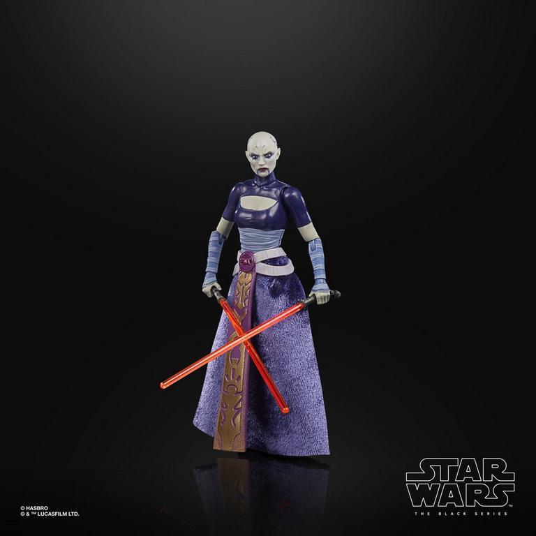 Star Wars: The Clone Wars Asajj Ventress The Black Series Action Figure