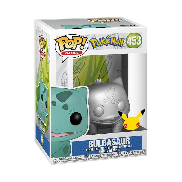 POP! Games: Pokemon Bulbasaur Silver Metallic