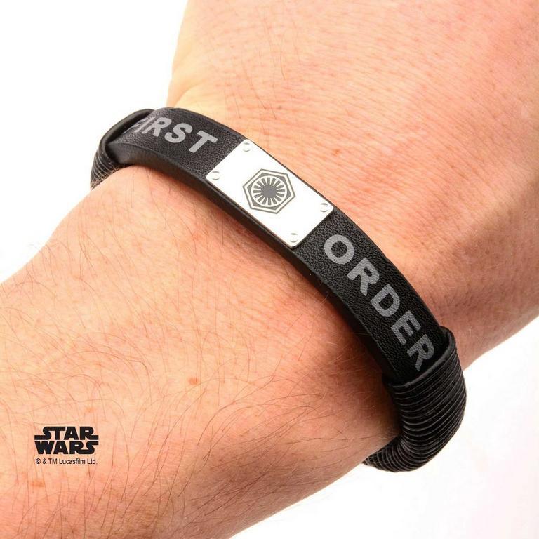 Star Wars Episode VII: The Force Awakens First Order Logo Bracelet