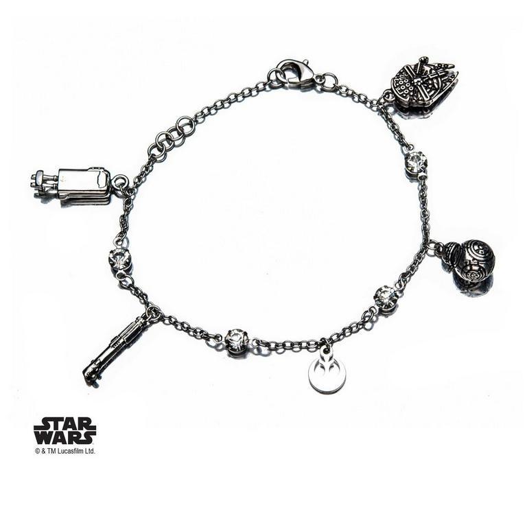 Star Wars Episode VIII: The Last Jedi Rey Charm Bracelet