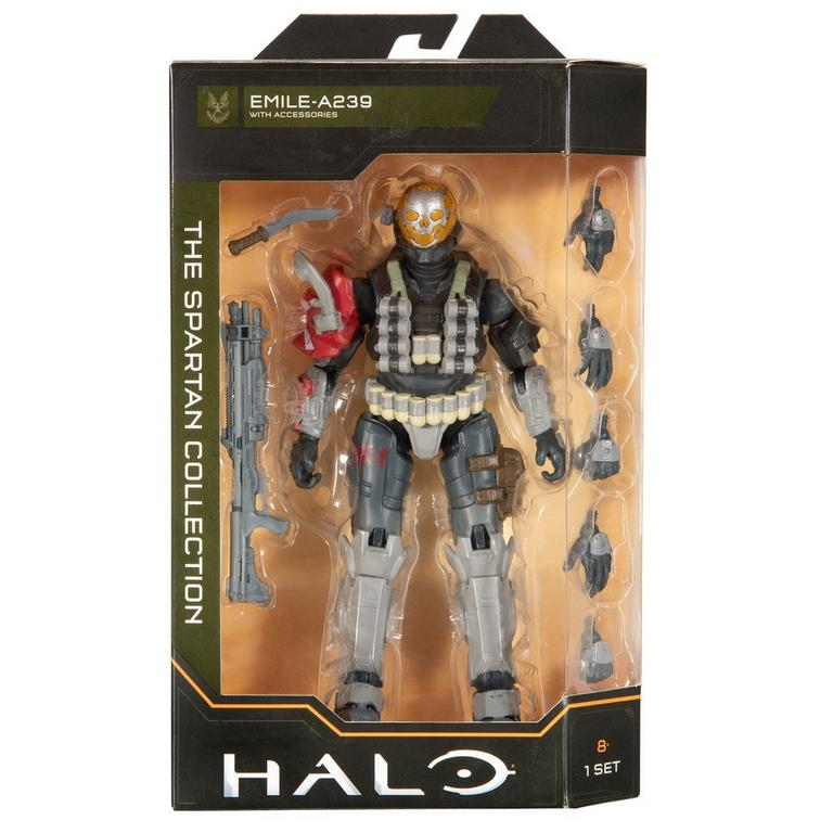 Halo Alpha Emile Reach The Spartan Collection Wave 2 Action Figure