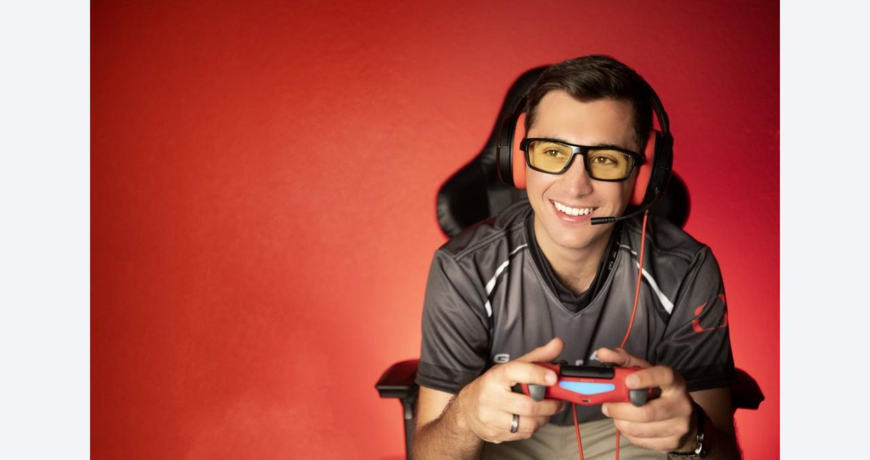 GUNNAR Lightning Bolt 360 Gaming Glasses