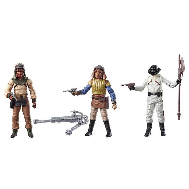 Star Wars Episode VI: Return of the Jedi Tatooine Skiff The Vintage Collection Action Figure 3 Pack