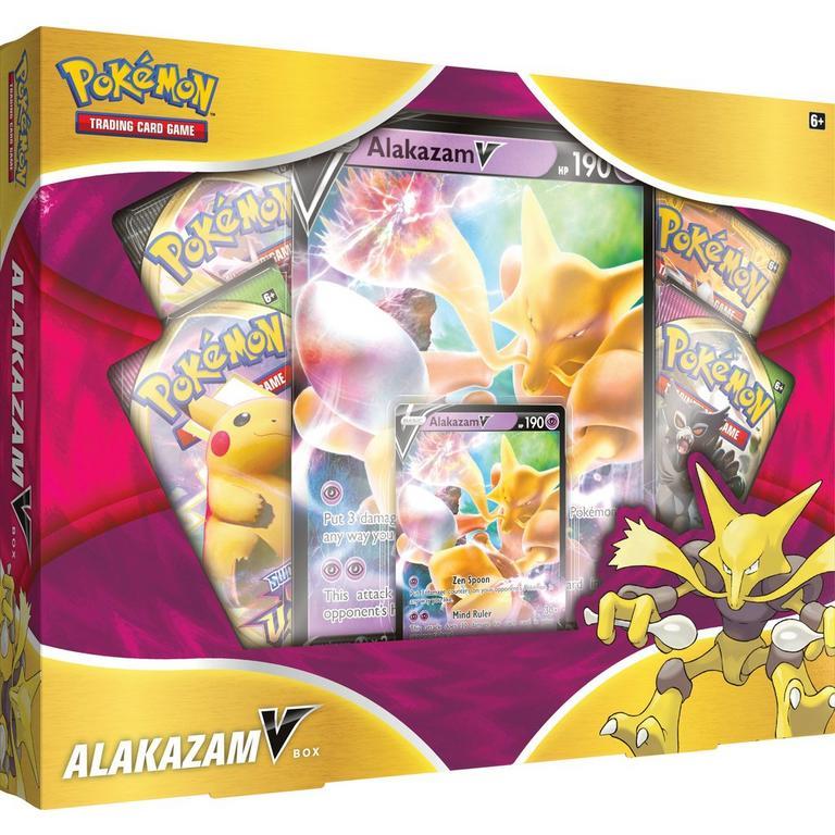 Pokemon Trading Card Game: Alakazam V Box