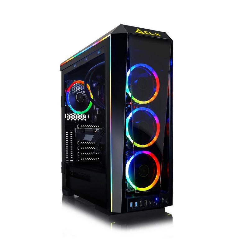 CLX SET TGMSETRTH0935BM Liquid Cooled AMD Ryzen 9 3950X 3.50 GHz 6TB HDD Gaming Desktop