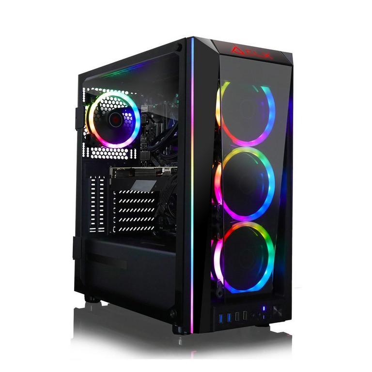 CLX SET TGMSETRTH0936BM Liquid Cooled Intel Core i7 10700K 3.80 GHz 2TB HDD Gaming Desktop