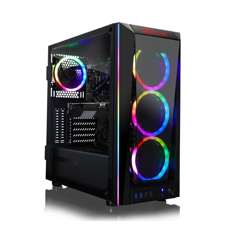 CLX SET TGMSETRTH0A23BM Liquid Cooled Intel Core i9 10850K 3.6Ghz 2TB HDD 480GB SSD Gaming Desktop