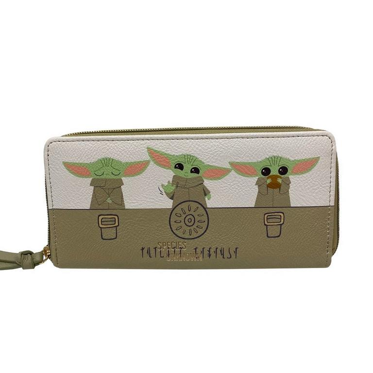 Star Wars: The Mandalorian The Child Pattern Wallet by Danielle Nicole