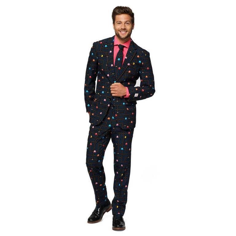 PAC-MAN Men's Suit US 50