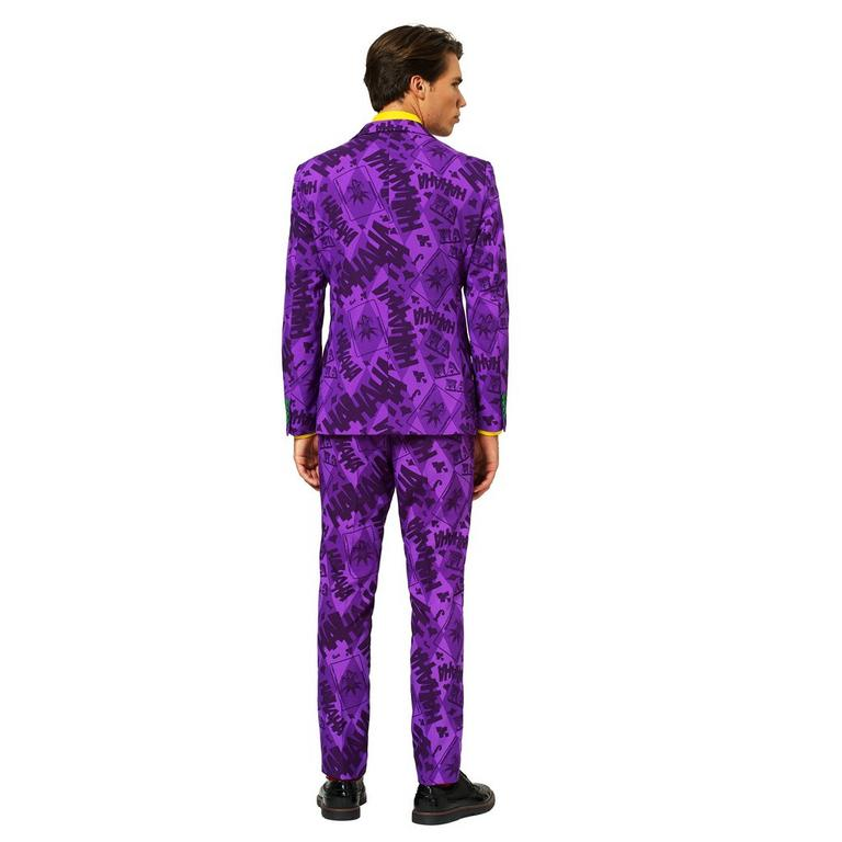 Batman The Joker Purple Men's Suit