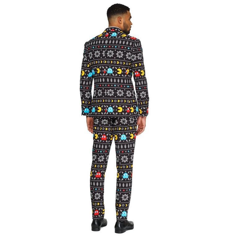 PAC-MAN Winter Christmas Men's Suit