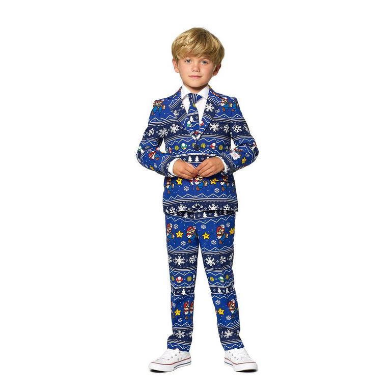 Super Mario Bros. Merry Mario Christmas Boy's Suit