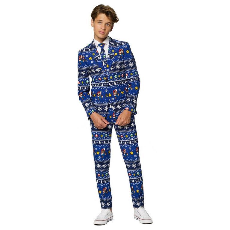 Super Mario Bros. Merry Mario Christmas Teen's Suit