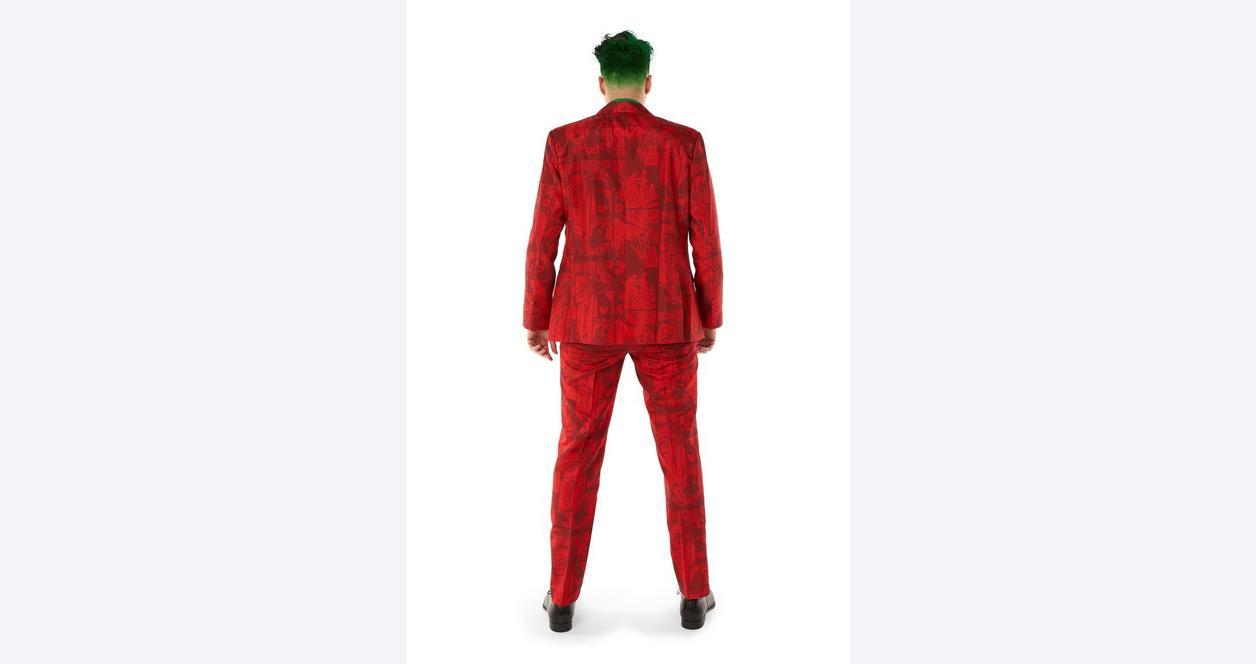 Batman The Joker Scarlet Halloween Men's Suit