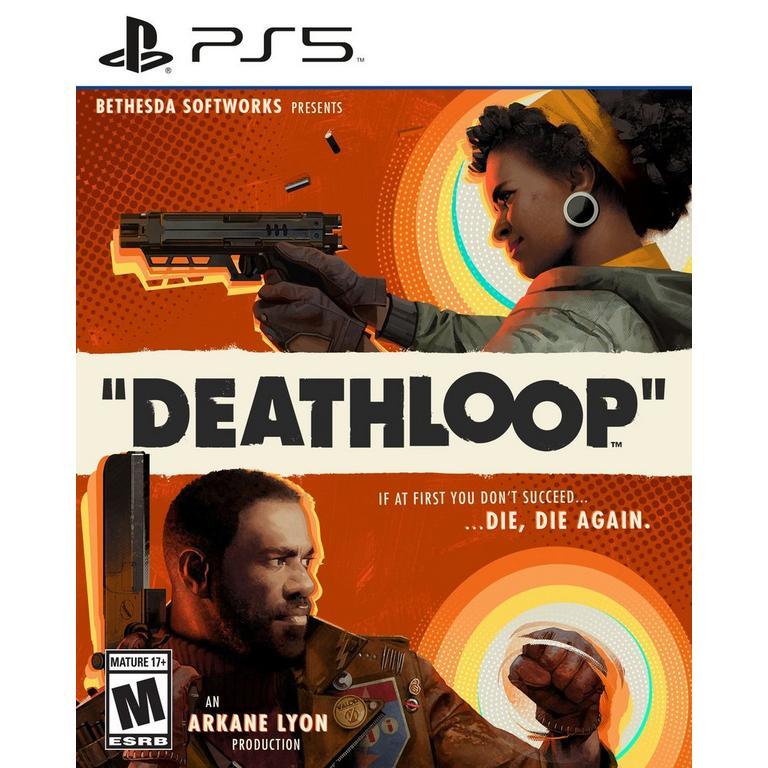 Preorder Deathloop PS5 Games Bethesda Softworks GameStop