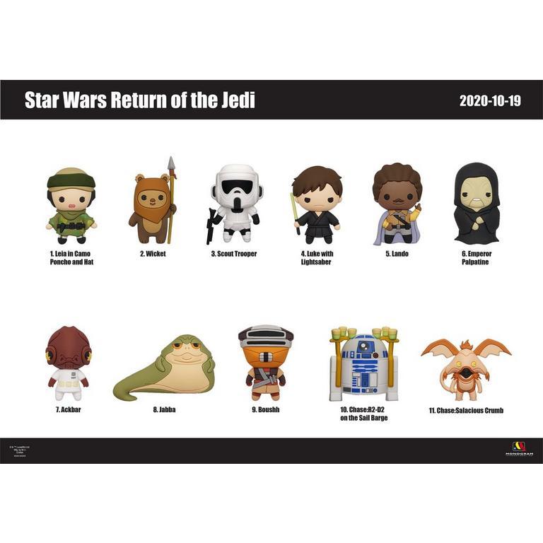 Star Wars: Episode VI - Return of the Jedi 3D Foam Character Blind Bag - Bag Clip